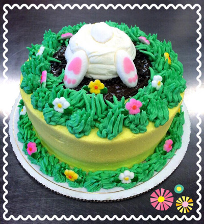 Peter Cottontail Easter Cake