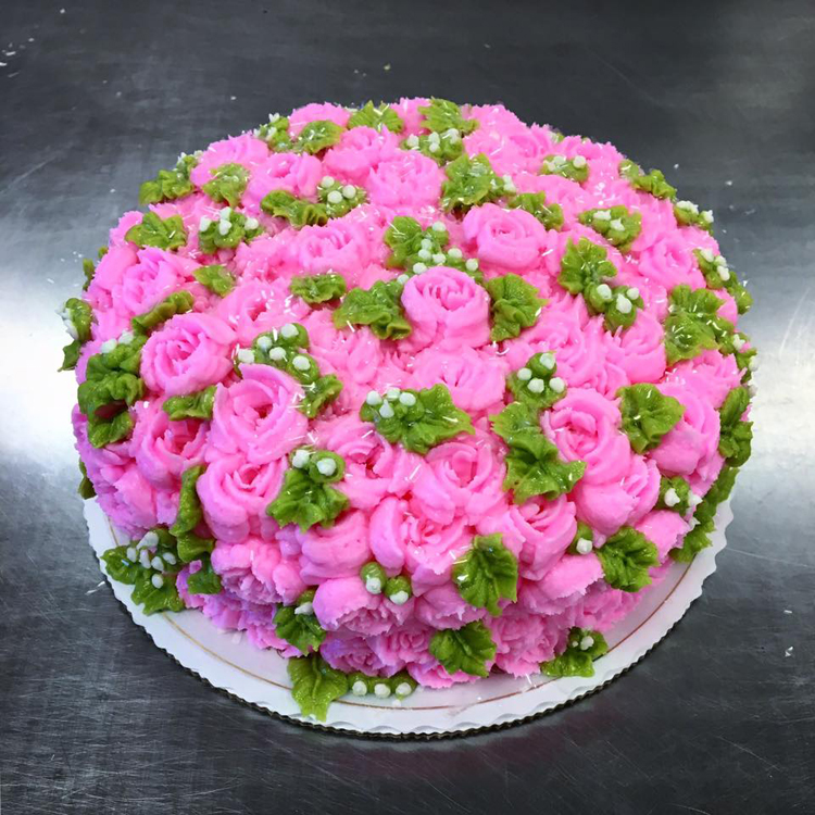 Hand-made Buttercream Flowers