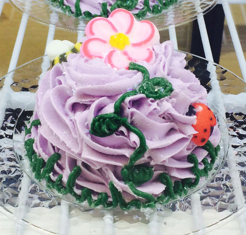 Purple Mini Mom's Cake